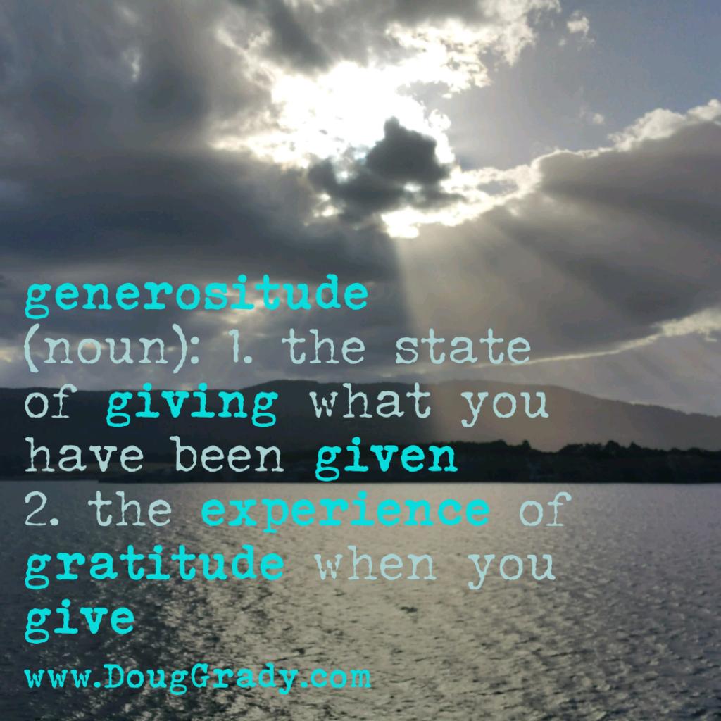 generositude
